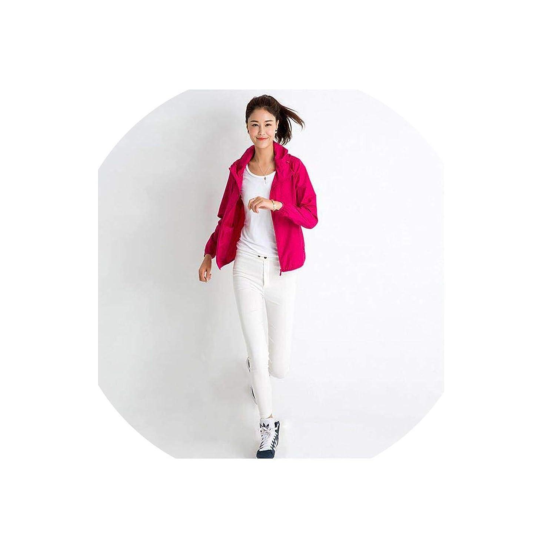 Woman Spring Waterproof Windbreaker Skin Coat Summer Sun Protection Clothing