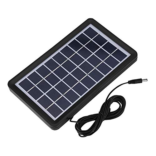 Richer-R Solar Panel, 9V 3W Solar Board Waterproof 93% Light Transmittance Poly Silicon Solar Cell