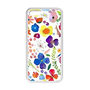 Best 9519822K76910348 Shock-dirt Proof Flower Diy For Iphone 6Plus Case Cover