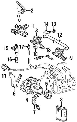 Amazon Com Mercedes Benz 000 140 37 85 Secondary Air Injection