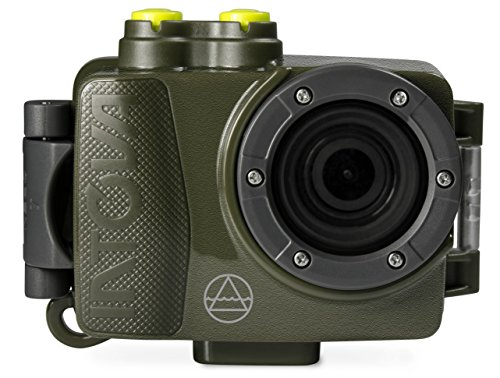 (Intova DUB Waterproof Hi-Res 8MP/1080p Photo and Video Action Camera, Green )