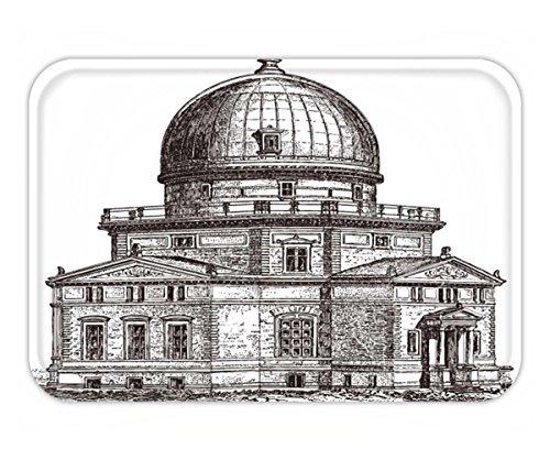 fan products of Beshowere Doormat observatory of strasbourg france vintage illustration from meyers konversations lexikon