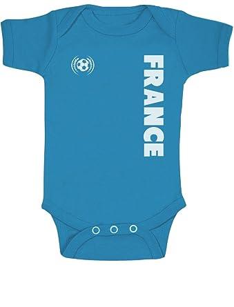 Green Turtle T-Shirts Fan de Football France Supporters Body Bébé Manche  Courte  Amazon.fr  Vêtements et accessoires 089ec82d990
