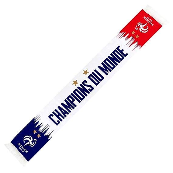 Écharpe Équipe de France de Foot  Champions  Officielle - Blanc ... 5e6dfe7652b