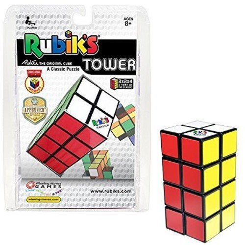 (Winning Moves Rubik's Tower Brain Teaser Puzzle)