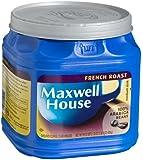 Maxwell House French Roast (Medium Dark) Ground Coffee, 33-Ounce Jugs (Pack of 2)