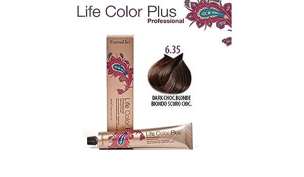 Farmavita Life Color Plus, Tinte 6.35 Rubio Oscuro Chocolate ...