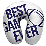 Lesi Yes U Shaped Neck Pillow Memory Foam Comfortable American Football Best Game Indoor Outdoor Travel Airplane Car Office School