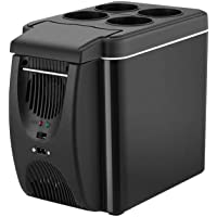 Refrigerator,mini refridgerator The New Simple 6 Liter Mini Portable Car Heating And Cooling Box Car Heating And Cooling…