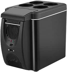 Refrigerator,mini refridgerator The New Simple 6 Liter Mini Portable Car Heating And Cooling Box Car Heating And Cooling Type Small Refrigerator Bicycle Light Consumption And Power Saving Light Small