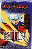 InuYasha Trading Card Game Kijin Booster Pack 10 Cards by SCORE