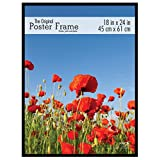 MCS 23834 18 X 24 Original Poster Frame in Black with Masonite Back and Styrene