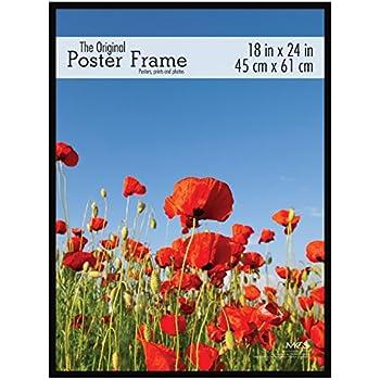 MCS 18x24 Inch Original Poster Frame, Black (23834)