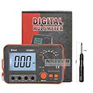 NKTECH VICI VC480C+ Digital Multimeter Multimetro Diagnostic-tool Tester 3 1/2 Milli-ohm Backlit Meter With 4 Wire Test and TL-1 Screwdriver
