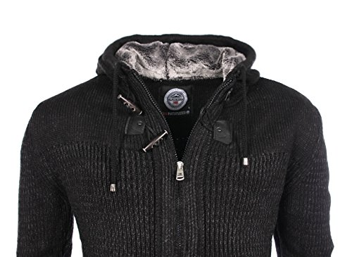 Geographical Norway homme - Pullover Noir Geographical Norway Franchise - Taille vêtements - M