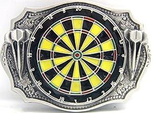 Buckle als Dartsscheibe, Dart, Darts, Dartboard, Bull - Gürtelschnalle