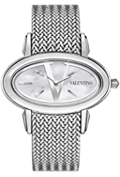 Valentino Women's V50SBQ9991S099 Signature Oval Stainless Steel Watch