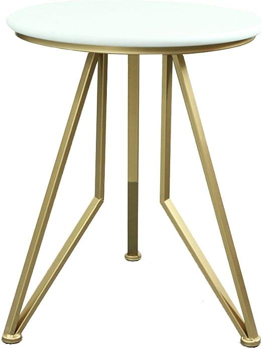 LYLian-Table Hogar Creativo Pequeño Mesa Redonda Hogar Salón ...