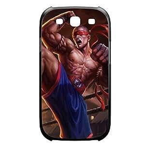 LeeSin-002 League of Legends LoL Diy For SamSung Note 3 Case Cover Plastic Black