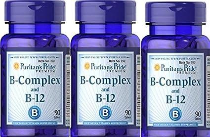 3 VITAMINA B12 Y B COMPLEX 90 COMPRIMIDOS (MEMORIA Y STRESS)