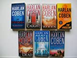 img - for Harlan Coben Set: Stranger; Caught; Woods; Innocent; Play Dead; Long Lost; Darkest Fear book / textbook / text book