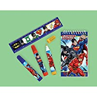 Amscan Justice Stationery Set, 6""