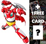 Getter 1: Super Robot Chogokin x Getter Robo Armageddon + 1 FREE Super Robot Anime Themed Trading Card Bundle