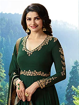 acb9bca568 Amazon.com: Delisa Party wear Indian/Pakistani Womens wear Anarkali Suit  KV: Clothing