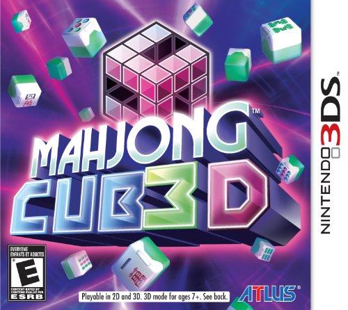 Mahjong CUB3D - Nintendo 3DS