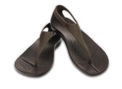 ef54815c7e65 crocs Women s Fashion Sandals brown espresso  Amazon.co.uk  Shoes   Bags
