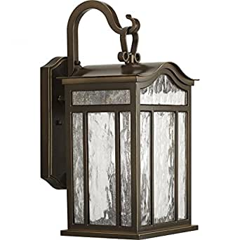 Progress Lighting P5717-108 Meadowlark 3 Light Outdoor Wall Sconce in Oil Rubbed