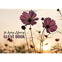 In Loving Memory Guest Book: For Funerals, Memorial Service & Remembrance Service