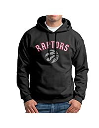 Toronto Raptors Basketball Raptors Logo Hoodies For Men Black M