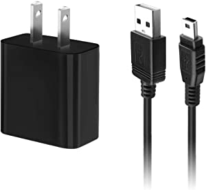 IBERLS 5V USB Mini Power Adapter Cord Replacement Leapfrog Kids Tablet for LeapPad 3, LeapPad Platinum, LeapReader, LeapPad Ultra Xdi, LeapPad Ultra Kids, 5ft Long Charger Cable