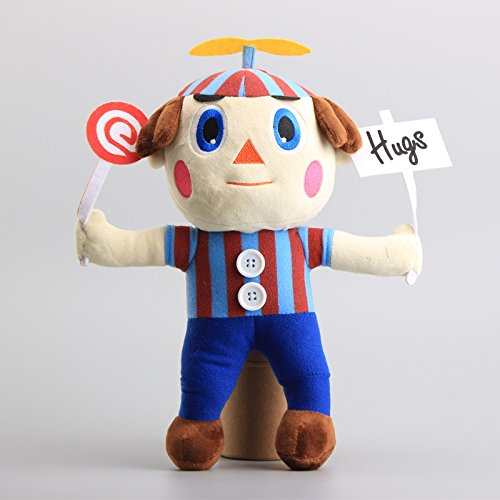 Five Nights At Freddy's Nightmare Balloon Boy 12 Inch Toddler Stuffed Plush Kids Toys FNAF (Five Nights At Freddy's 4 Halloween Edition)