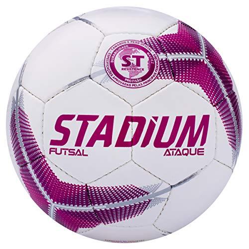 Bola Futsal Ataque Ix Stadium 64 Cm Rosa