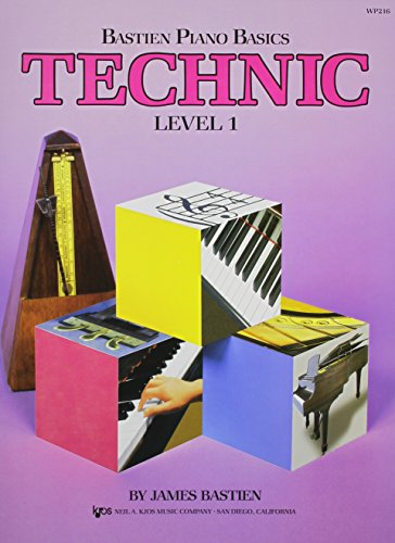 WP216 - Bastien Piano Basics - Technic Level 1 (Level 1/Bastien Piano Basics Wp216) [James Bastien] (Tapa Blanda)
