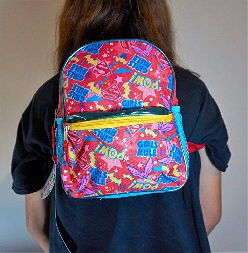 DC Super Hero Girl's Toddler 'Girls Rule' Miniature Backpack