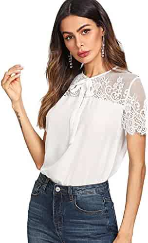 12cf6c0c9aeca Shopping Roxy or Romwe - Blouses & Button-Down Shirts - Tops & Tees ...
