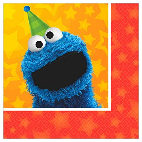Beverage Napkins | Sesame Street® Collection | Party Accessory | 96 Ct.