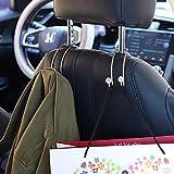 SAVORI Auto Hooks Bling Car Hangers Organizer Seat