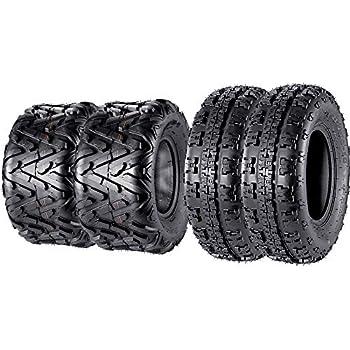 6PR Set of 2 ATV Tires 20x10x9 Sport Quad Tire 20x10-9 Racing UTV
