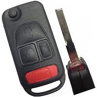 Replacement Keyless Remote Fob Key Shell Case For Mercedes-Benz ML320 ML55 AMG ML430 C230 CL500 CL600 C36 AMG E420 S320 S420 S500 SL500 SL600 E500 SL 500E 500SEC 500SEL 500SL 600SEC 600SEL
