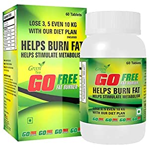GoFree Fat Burner | Weight Loss Supplement with Green Tea Extract