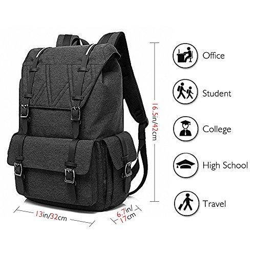 Travel Laptop Backpack – AKASO College School Backpack, Large Capacity Backpack