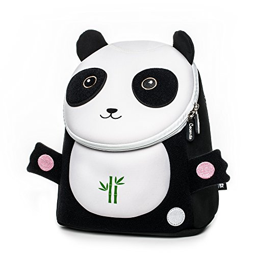 Toddler Kids Backpack Zoo Animals Baby Bag with Leash - Penguin,Pig by New Running (panda)