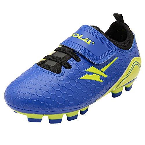 Activo De apex Volt Garçons Football 5 Astroturf Gola Bleu Chaussures 14Sxqdg1wt