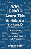 img - for Why Didn't I Learn This in Hebrew School?: Excursions Through the Jewish Past and Present book / textbook / text book