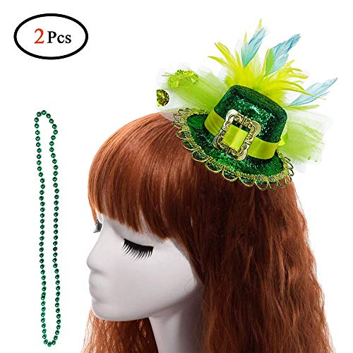 St Patrick's Day Leprechaun Top Hat Headbands for Women St Patty's Day Accessories St Patrick's Day Decorations Party -