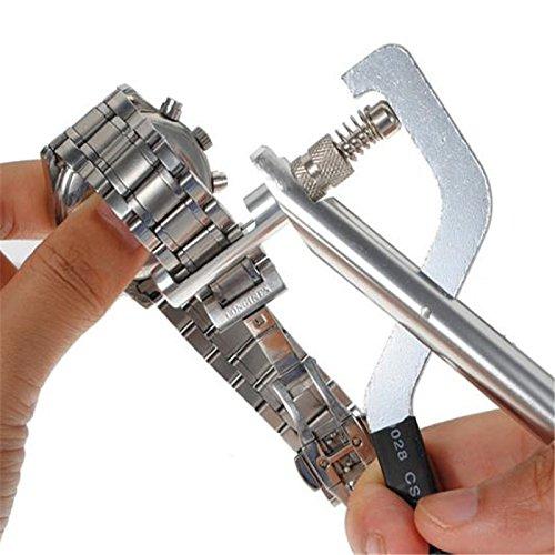 Preeyawadee Watch Tools Professional Watch Repair Tool Kit Watch Band Link Adjuster Remover Pliers Horloge Outil Montre